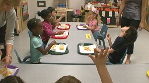 """VIDEO: ABCs JuJu Chang visits a special """"mainstreaming"""" pre-school."""