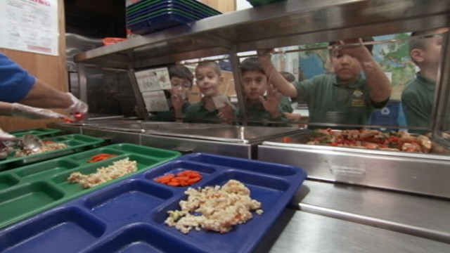 "VIDEO: Sarah Wu, author of ""Fed Up With Lunch,"" reveals fight to improve school lunch."