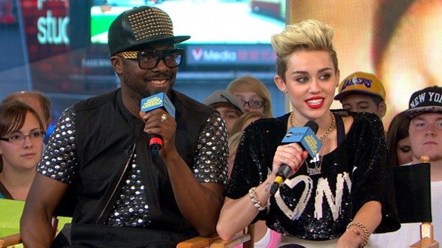 VIDEO: Miley Cyrus and Will.i.am