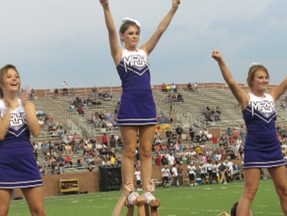 Varsity cheerleaders face misdemeanor hazing charges in a criminal case.