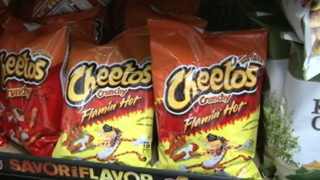 VIDEO: A snack popular with kids is now banned in many schools across the country.