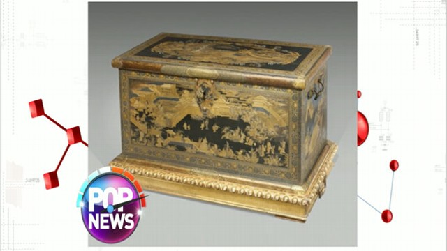 VIDEO: Treasure Chest Used as TV Stand Worth Millions