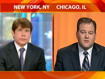 VIDEO: Rod Blagojevich and Matt Murphy on GMA.