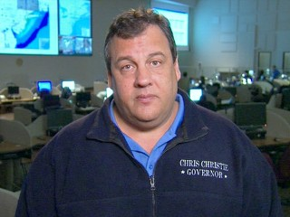 Gov. Christie Praises President Obama
