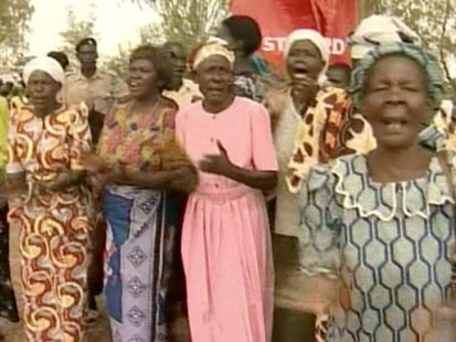 VIDEO: Kenyan women celebrating.