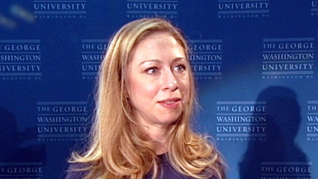 VIDEO: Students to collect phones to aid health workers with help from Chelsea Clinton.