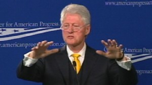VIDEO: Bill Clinton Battles Conservatives