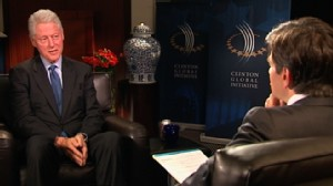 VIDEO: Former president discusses the Clinton Global Initiative, economy and 2012.