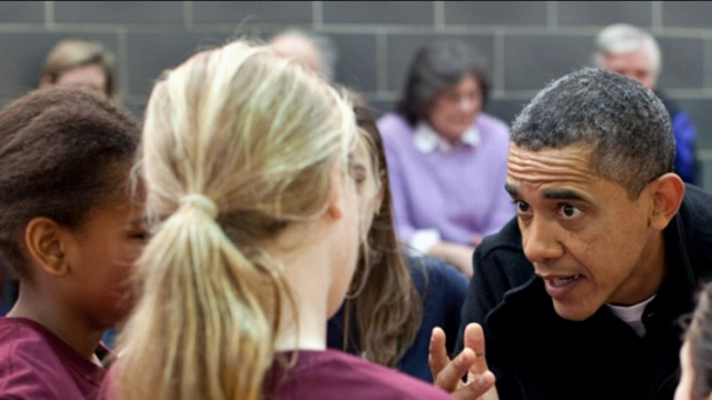 VIDEO: President Obama explains weekly gig coaching daughter Sashas basketball team.