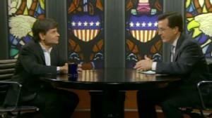 VIDEO: Stephen Colbert Grills George Stephanopoulos