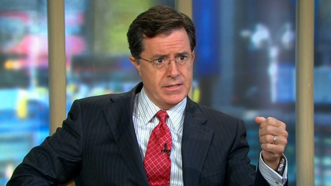 VIDEO: Stephen Colbert's Rally