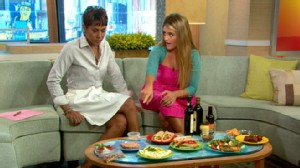 """VIDEO: Daphne Oz explains how to avoid the """"freshman 15"""" and stay healthy in college."""