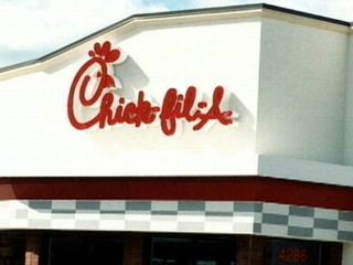Watch: Chick-Fil-A President's Gay Marriage Stance Spark Protest