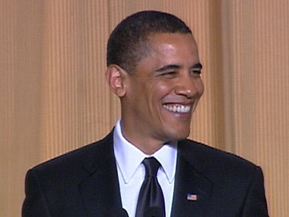 VIDEO: President Obama steals the show at the annual Correspondents Dinner.