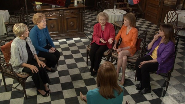 "VIDEO: Mary Tyler Moore, Betty White, Cloris Leachman and Georgia Engel join actress on ""GMA."""