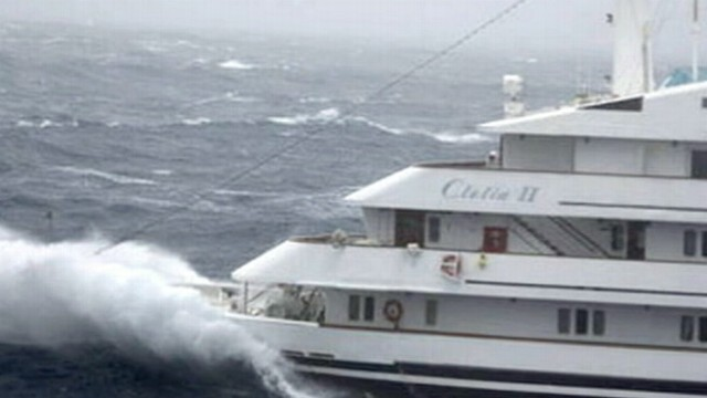 Hurricane Sandy Cruise Ships In The Storm Video Abc News