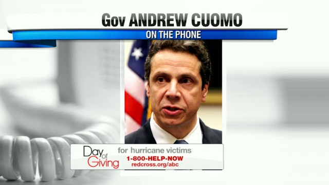 VIDEO: Governor Cuomo discusses ways to donate to hurricane relief and current status of state.