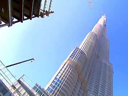 VIDEO: The 160-story Burj Dubai is an engineering and architectural marvel.