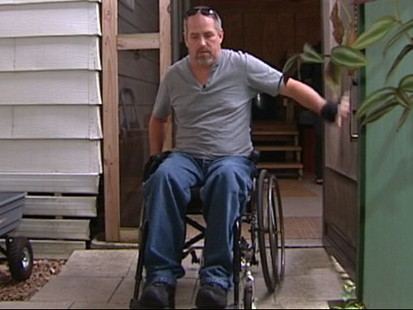 VIDEO: Mechanic in wheelchair was denied coverage for almost two years.
