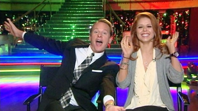 VIDEO: The recently booted dance couple has a little fun before their GMA interview.
