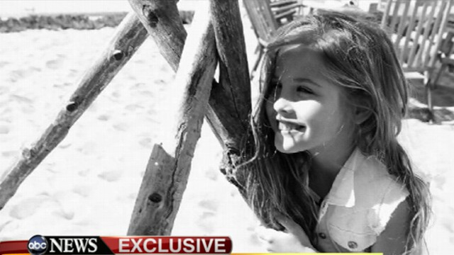 VIDEO: Dannielynn, 6, follows footsteps of mom who launched career with Guess jeans campaign.