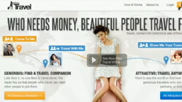 VIDEO: Misstravel.com encourages users to take fancy vacations all around the world.