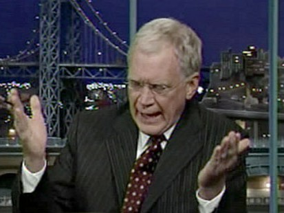 VIDEO: Letterman has sex withs staffers