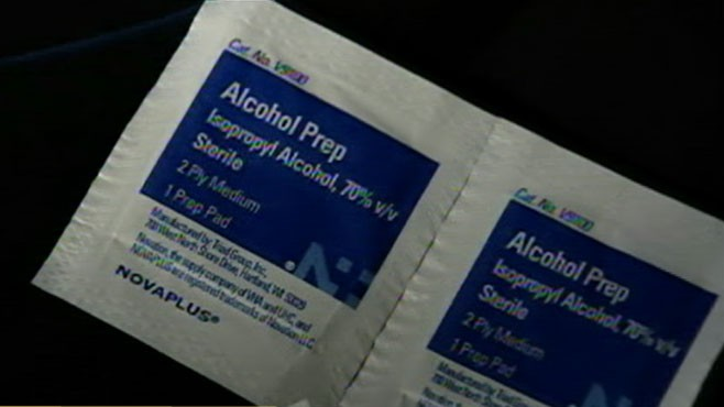 VIDEO: Deadly Alcohol Swabs