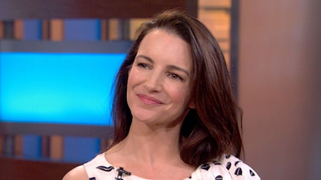 VIDEO: The Emmy-nominated actress talks about being a mom and her new Lifetime movie.
