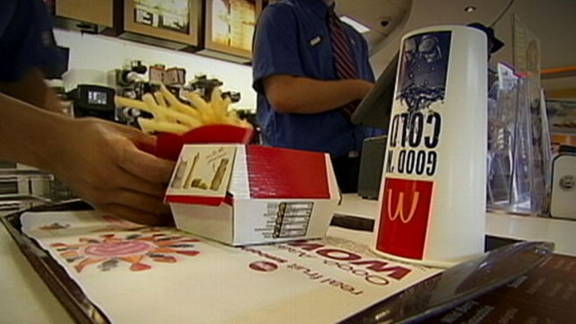 VIDEO: The fast food giants newest offering aimed at stealing customers from sandwich rival.