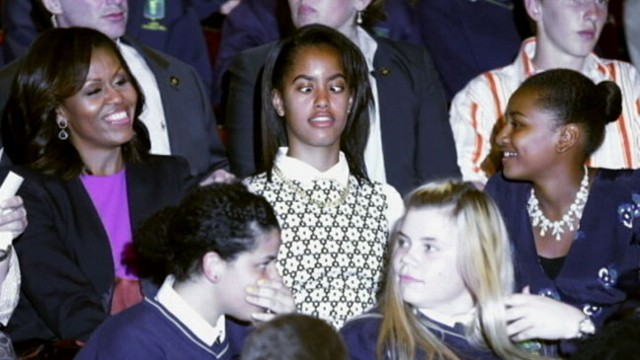 Video: Obama Girls Not Impressed With Summer Vacation?