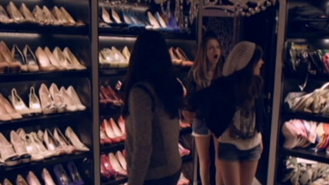 "VIDEO: ""The Bling Ring"" actress discusses filming scenes in stars closet with the U.K. Radio Times."