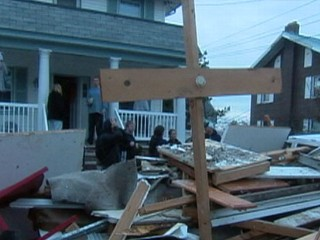 Watch: Tension Soars as Light Dims in Far Rockaway, NY