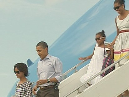 VIDEO: Bad Time for Obamas Break?