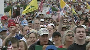 VIDEO: Tea Party Protesters March on Washington