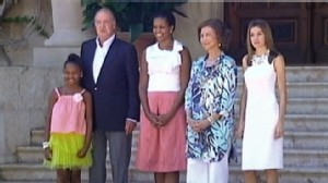 VIDEO: The first lady faces backlash over cost of vacation in Spain.