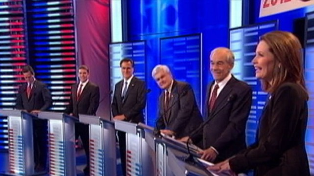 VIDEO: Jake Tapper reports on aftermath from ABC News Iowa debate.