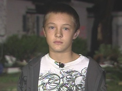 VIDEO: 13-yr-old Ryan Degners home in Illinois was destroyed by one of the storms.