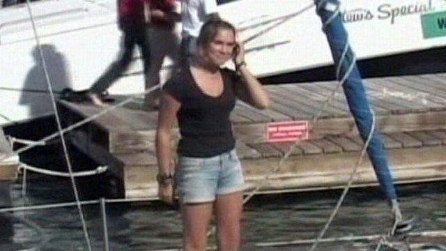 VIDEO:Laura Dekker claims the record of worlds youngest person to circle the globe.