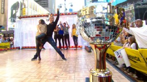"VIDEO: The ""Dancing"" winners show off their skills with a hand jive."