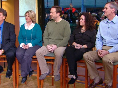 VIDEO: Five people on different diets lost 696 pounds in total.