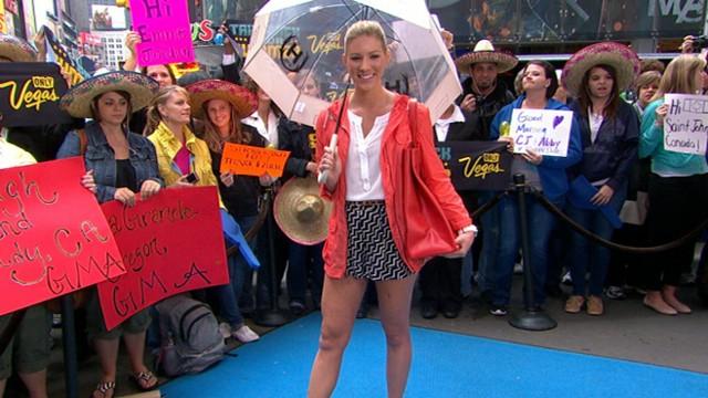 Good Morning America Umbrella : Spring rain gear for less umbrellas coats video abc news