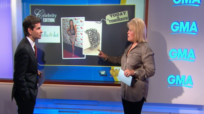 VIDEO: Tory Johnson finds great deals on celebrity clothing.