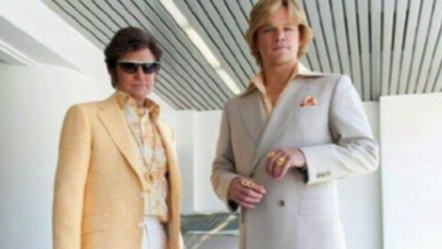 "VIDEO: Douglas and Damon play lovers in HBO?s look at the life of Liberace in ""Behind the Candelabra."""