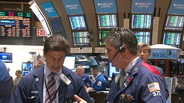 VIDEO: 600-point swings were seen throughout the day following global stock selloff.