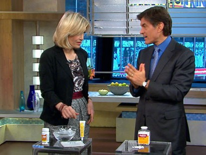 VIDEO: Dr. Mehmet Oz explains first-aid techniques you can perform on yourself.