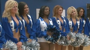 "VIDEO: ""GMA"" fulfills Amanda Roberts dream of becoming a Dallas Cowboys cheerleader"
