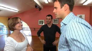 """VIDEO: Cameron Mathison tells Gail Sylva how nervous he was on """"Dancing With the Stars."""""""