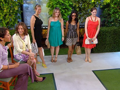 VIDEO: Glamour?s Suze Yalof Schwartz shows off some cheap, cute summer dresses.