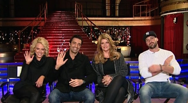 VIDEO: Kirstie Alley and Gilles Marini stop by GMA with their Dancing partners.